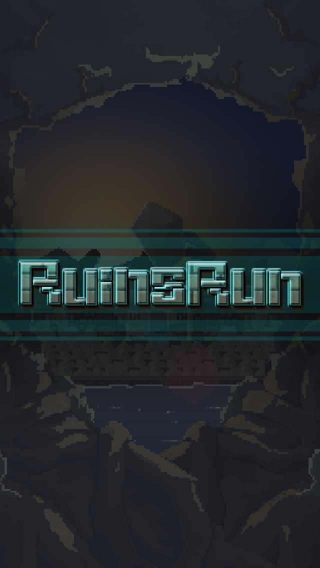 ルインズラン -よくばりスキマ回避横スクロールランゲームのスクリーンショット_1