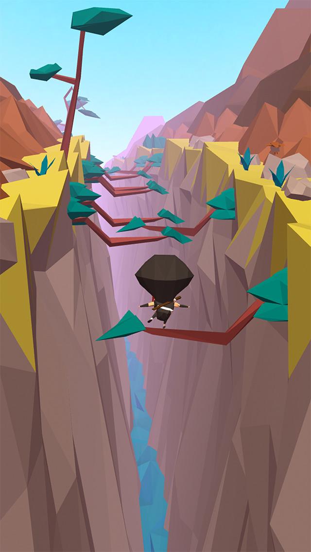 忍者ステップ - エンドレスランの無料のアクションゲームのスクリーンショット_1