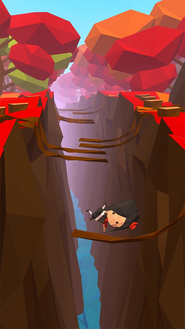 忍者ステップ - エンドレスランの無料のアクションゲームのスクリーンショット_3