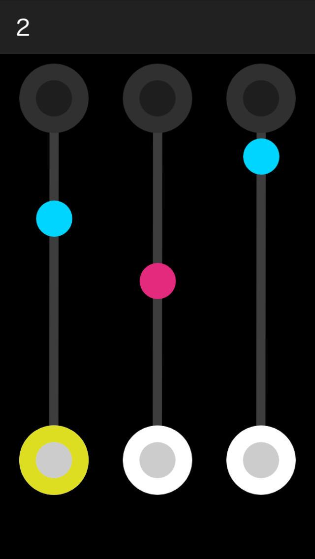 Falls :【フォールズ】落ち物系のアクションパズルゲームのスクリーンショット_1