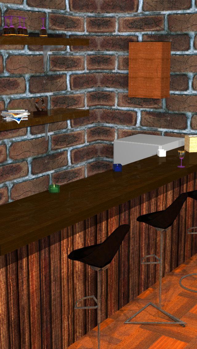 脱出ゲーム-Casual Bar- 無料で遊べる簡単新作パズルゲームのスクリーンショット_1