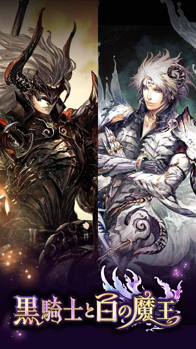 黒騎士と白の魔王のスクリーンショット_1