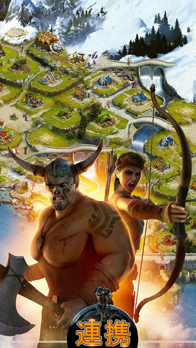 ヴァイキング:クランの戦争 「Vikings: War of Clans」のスクリーンショット_3