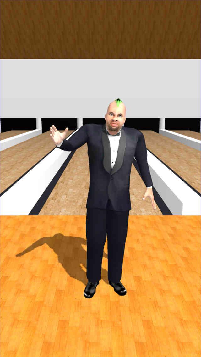 人間ボウリングのスクリーンショット_2