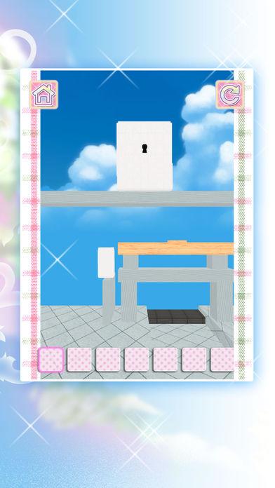 脱出ゲーム六月花嫁のブーケのスクリーンショット_4