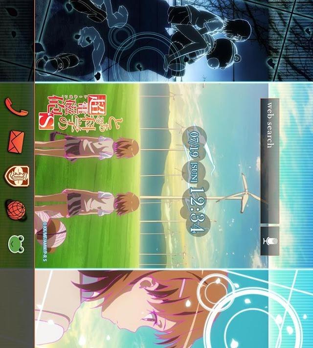 とある科学の超電磁砲S(アニメ)きせかえテーマ2のスクリーンショット_4
