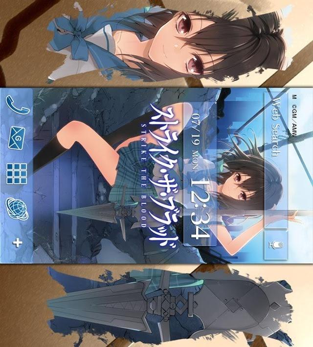 ストライク・ザ・ブラッド(電撃文庫)きせかえテーマのスクリーンショット_3