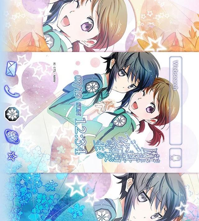 魔法科高校の劣等生(電撃文庫)きせかえテーマのスクリーンショット_2