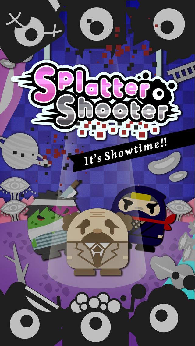Splatter Shooter 〜叫ぶ飛び散るエイリアン!30秒のシューティングゲーム!スプラッターシューターのスクリーンショット_1