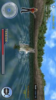 バスフィッシング3D 無料版のスクリーンショット_4