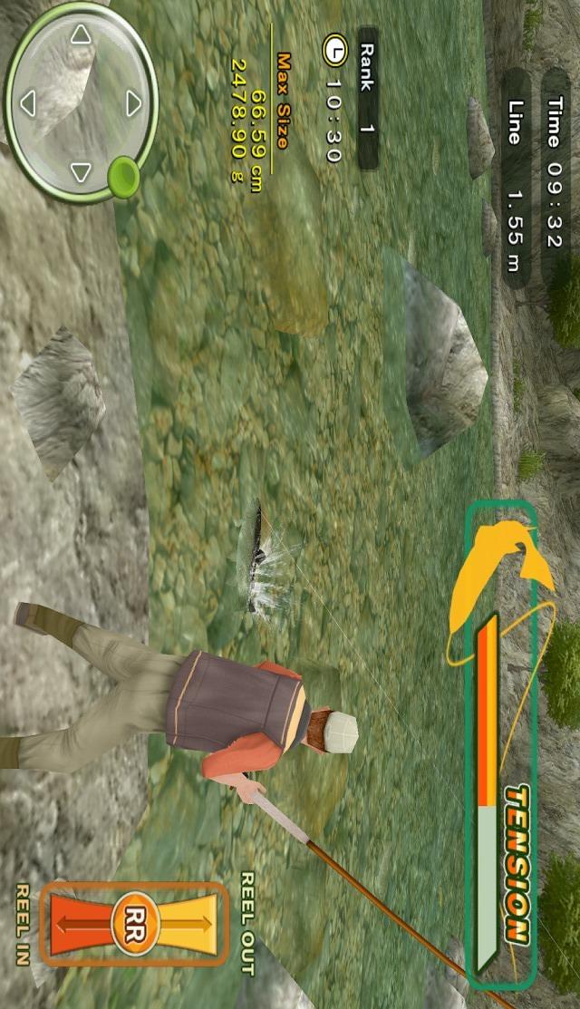 フライフィッシング3Dのスクリーンショット_2