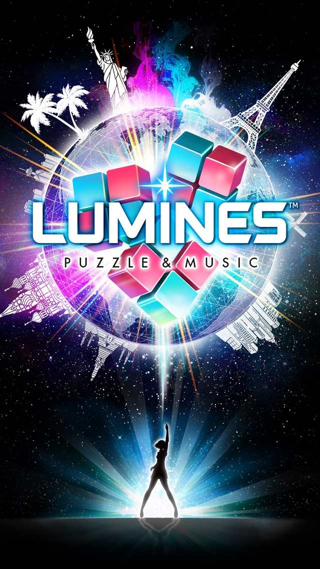LUMINES パズル&ミュージックのスクリーンショット_1