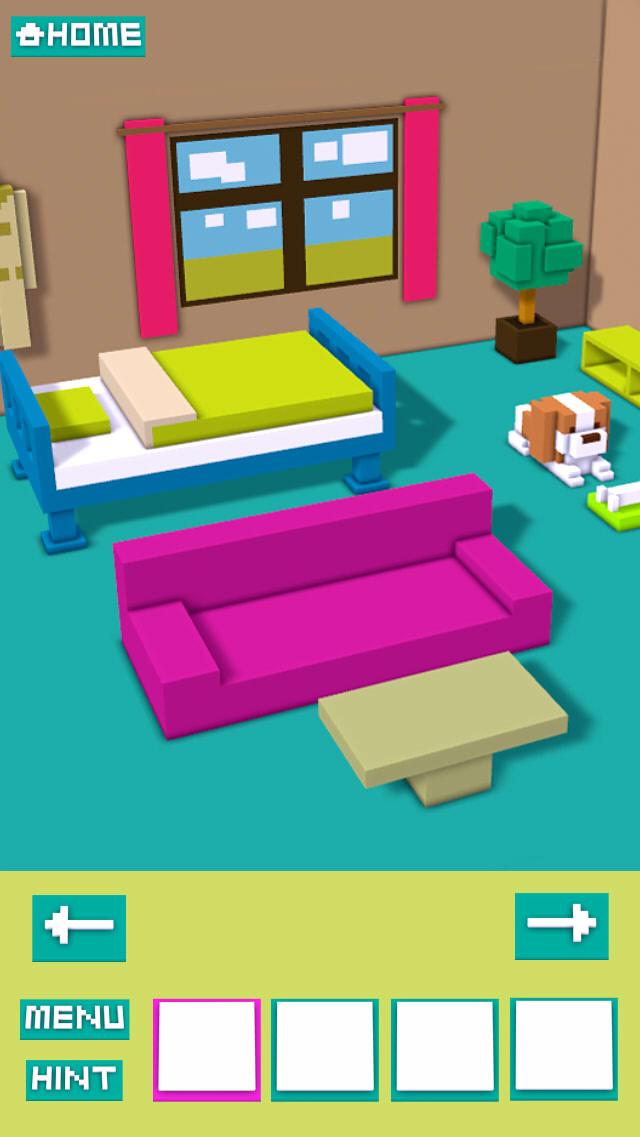 脱出ゲーム VOXEL ROOMのスクリーンショット_3