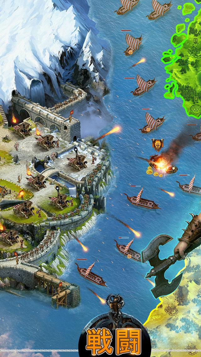 ヴァイキング:クランの戦争 「Vikings: War of Clans」のスクリーンショット_4