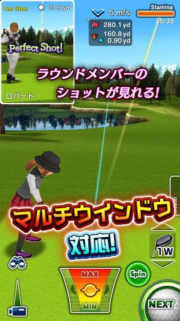 ゴルフデイズ : エキサイト リゾートツアーのスクリーンショット_2