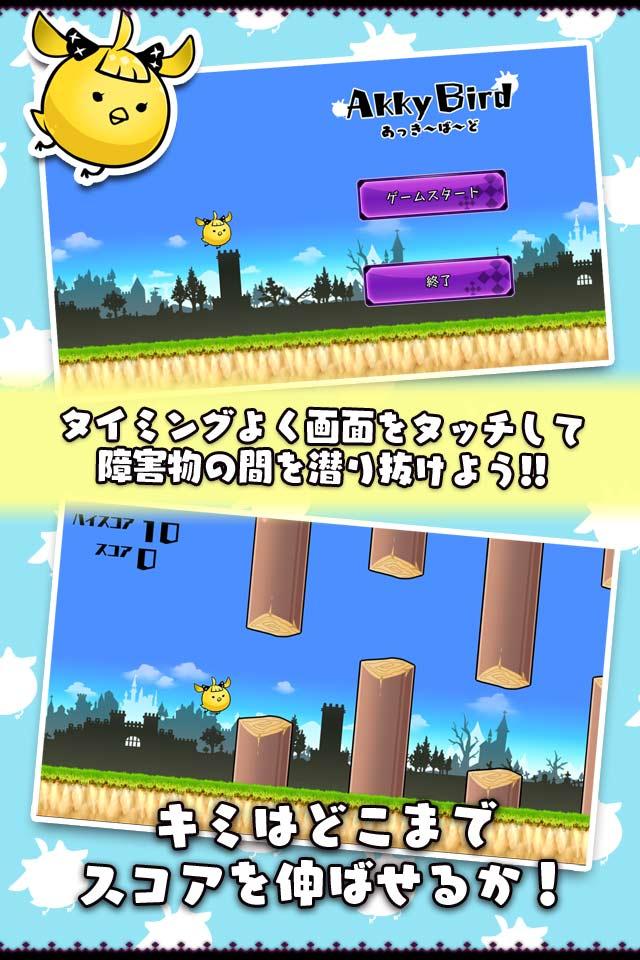 あっきーばーど(禁断のミニゲーム!?)のスクリーンショット_2