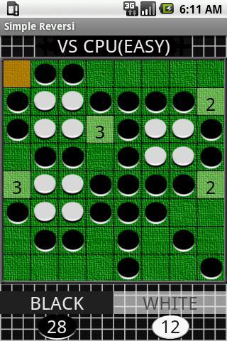 シンプル リバーシのスクリーンショット_2