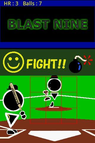 Blast Nine~ home run derby ~のスクリーンショット_2