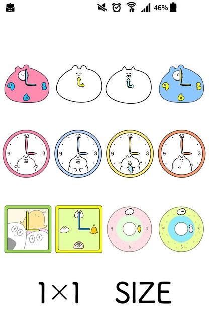 ウサギさん時計のスクリーンショット_1