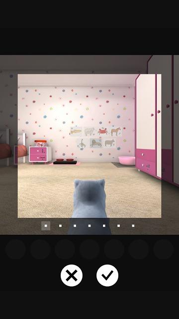 脱出ゲーム 謎解きにゃんこ5 ~小さな女の子の部屋~のスクリーンショット_3