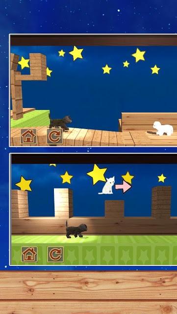 脱出ゲーム 猫と七夕さんぽのスクリーンショット_3
