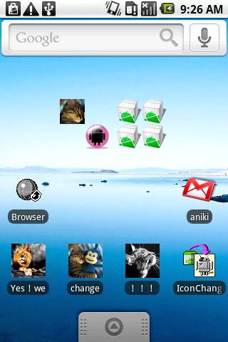 IconChangeWidgetのスクリーンショット_1