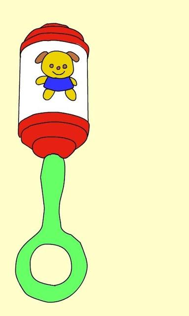 シンプル 赤ちゃん がらがら ガラガラのスクリーンショット_1