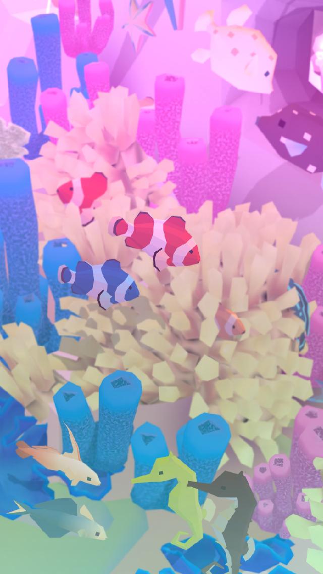 アビスリウム - タップで育つ水族館のスクリーンショット_2