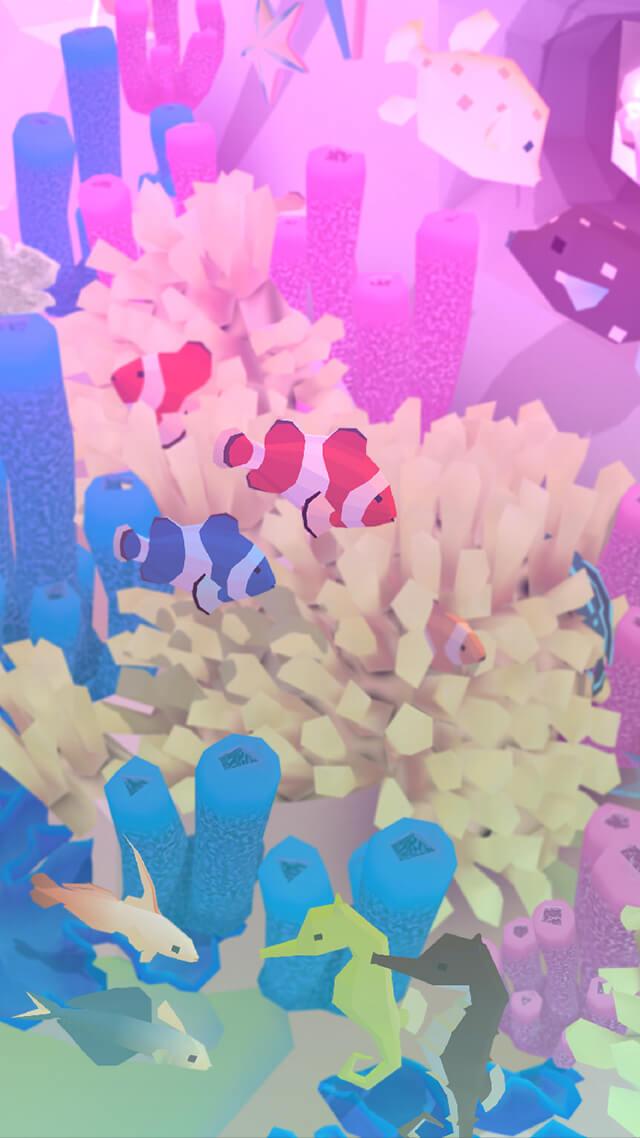 アビスリウム - タップで育つ水族館 のスクリーンショット_2