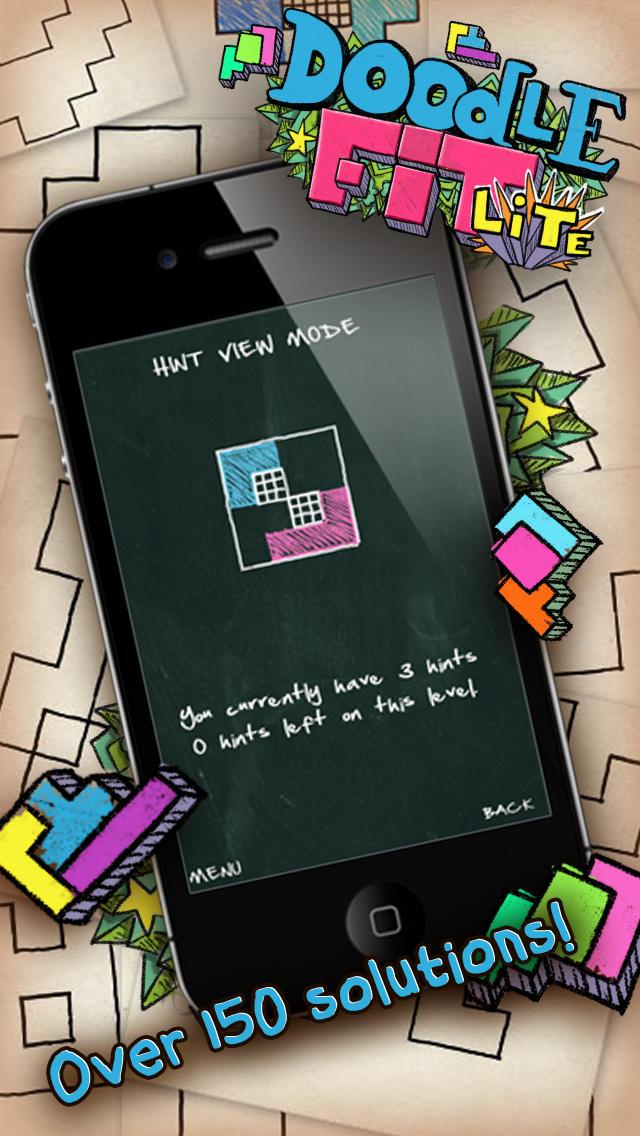 Doodle Fit Liteのスクリーンショット_3