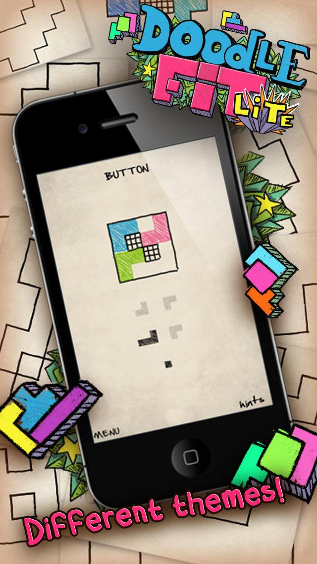 Doodle Fit Liteのスクリーンショット_4