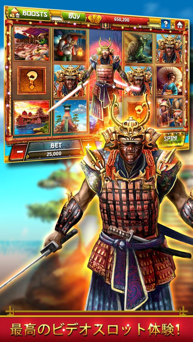 Samurai Casino Slots - Free Slot Machines, Big Wins, Best Games!のスクリーンショット_1