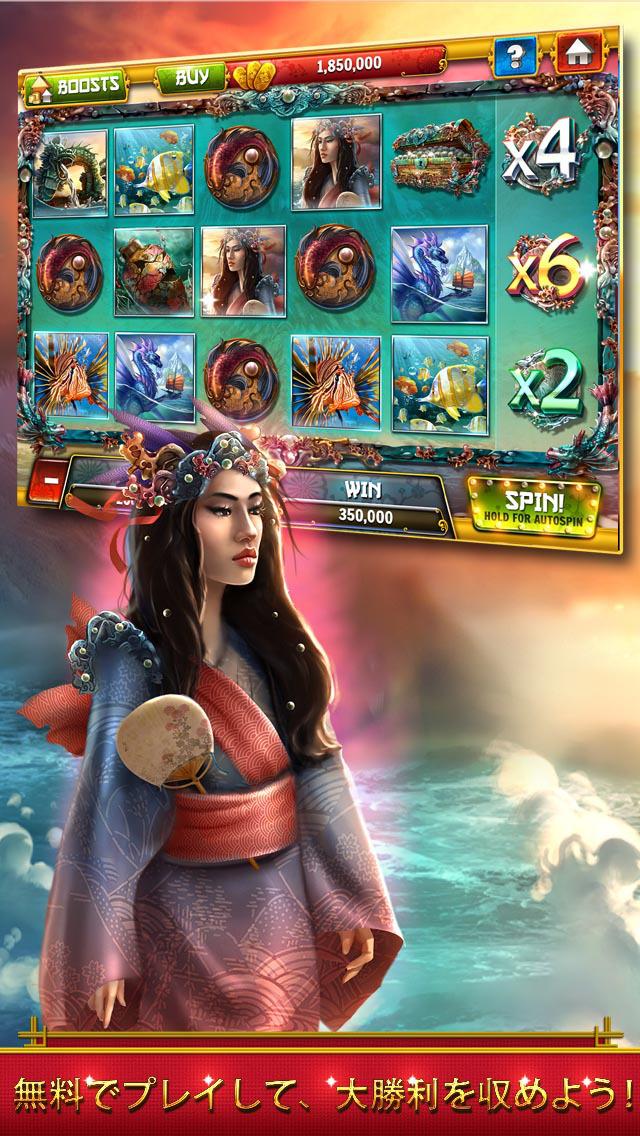 Samurai Casino Slots - Free Slot Machines, Big Wins, Best Games!のスクリーンショット_2