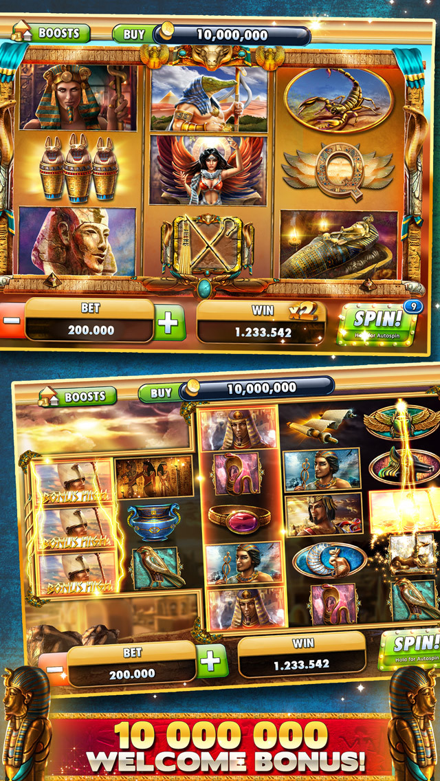 Cleopatra Casino – FREE Slot machines with bonusesのスクリーンショット_1