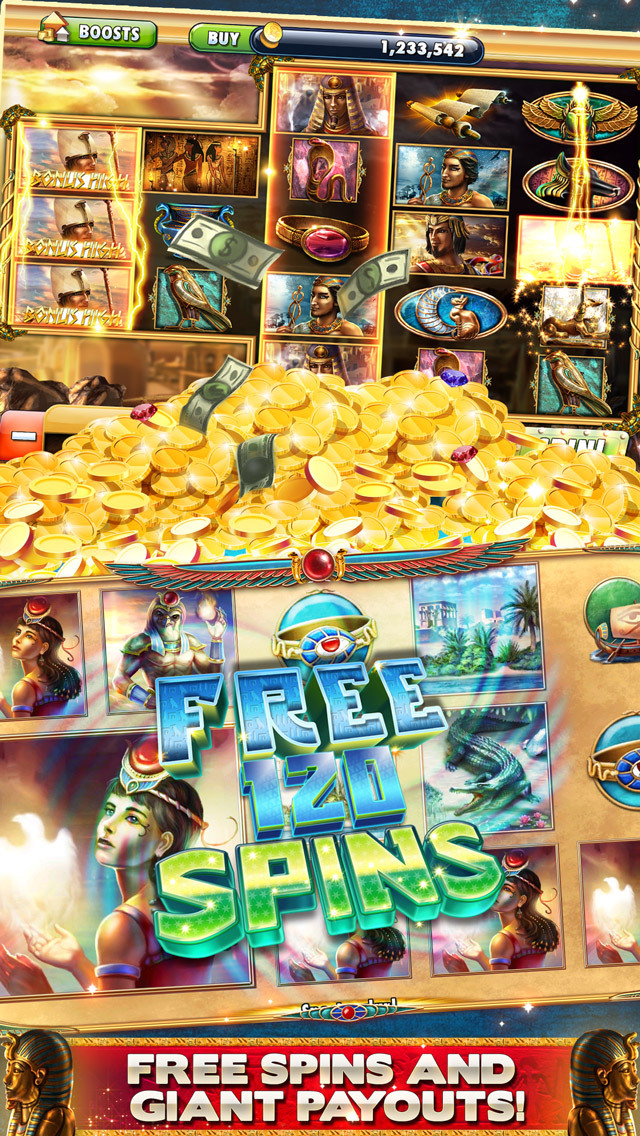 Cleopatra Casino – FREE Slot machines with bonusesのスクリーンショット_2