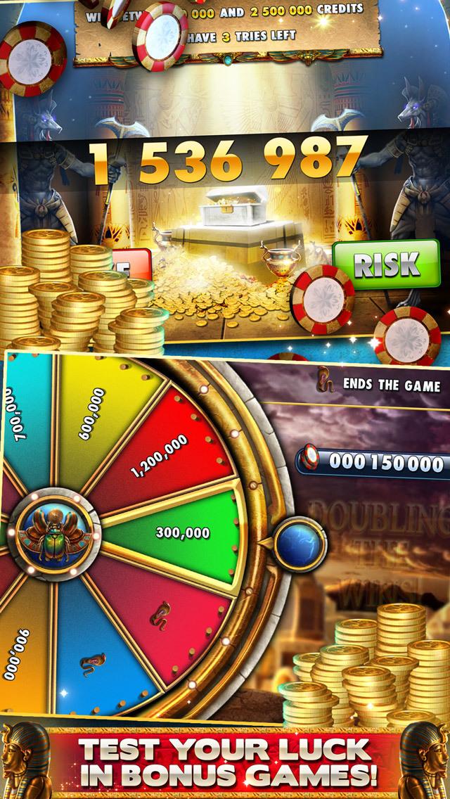Cleopatra Casino – FREE Slot machines with bonusesのスクリーンショット_4
