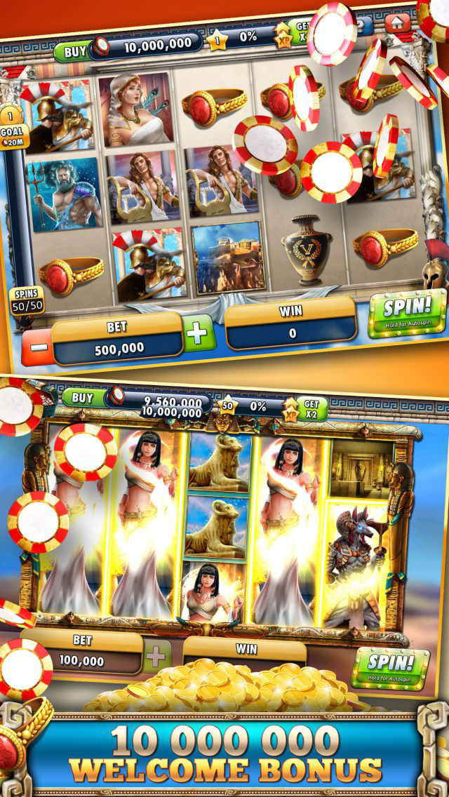 Slots Casino -  Gods Slot Machines Freeのスクリーンショット_1