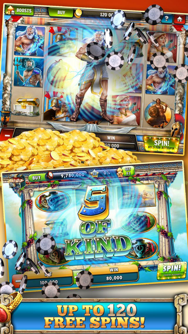Slots Casino -  Gods Slot Machines Freeのスクリーンショット_2