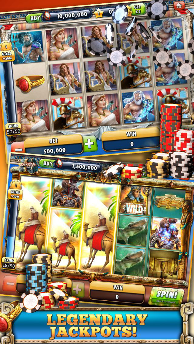 Slots Casino -  Gods Slot Machines Freeのスクリーンショット_3