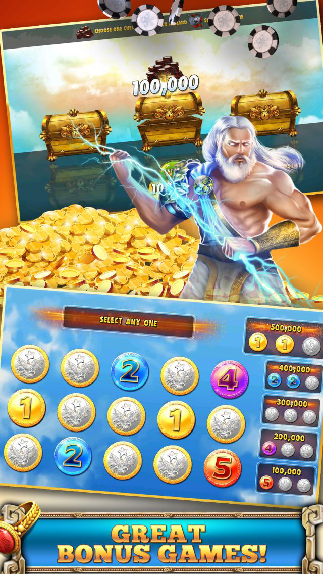 Slots Casino -  Gods Slot Machines Freeのスクリーンショット_4