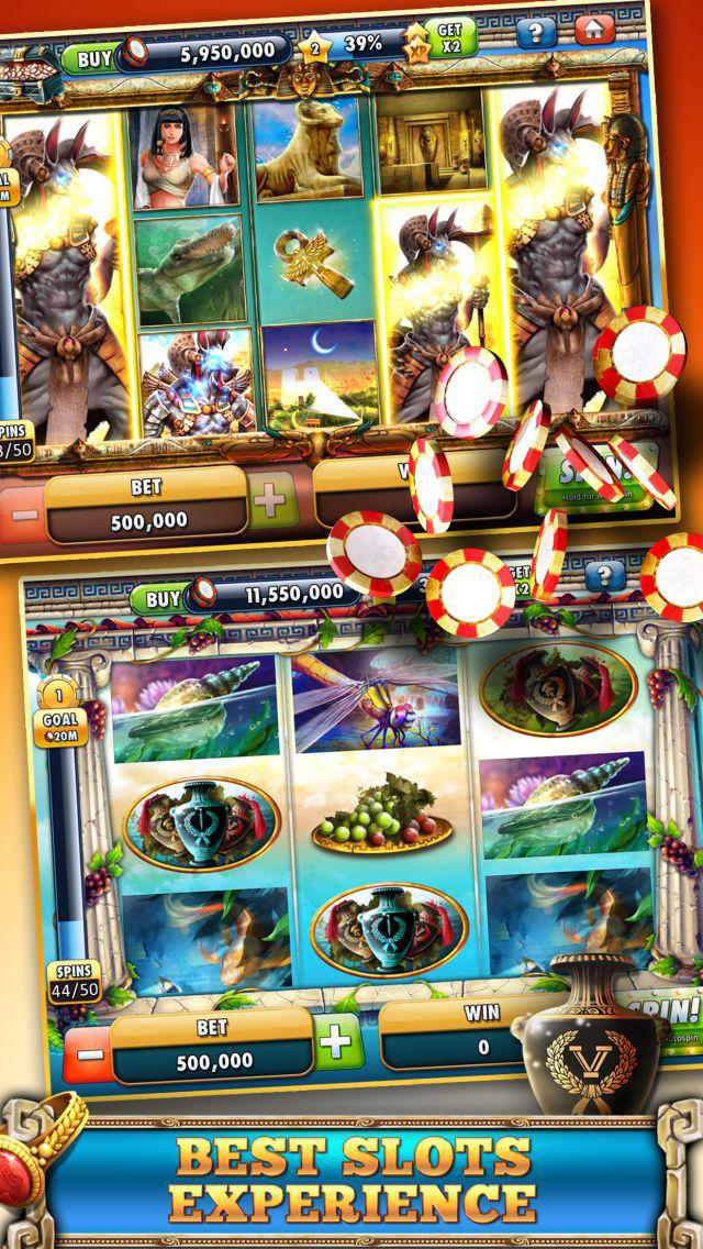 Slots Casino -  Gods Slot Machines Freeのスクリーンショット_5