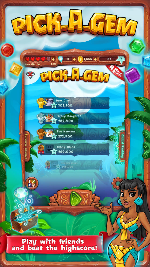 Pick-A-Gemのスクリーンショット_3