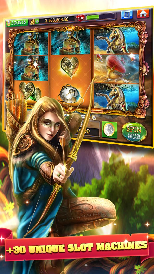 Slots: Slot Machine Adventuresのスクリーンショット_3