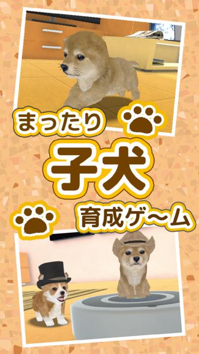 まったり子犬 育成ゲーム - のんびり癒しのこいぬ放置系アプリのスクリーンショット_1