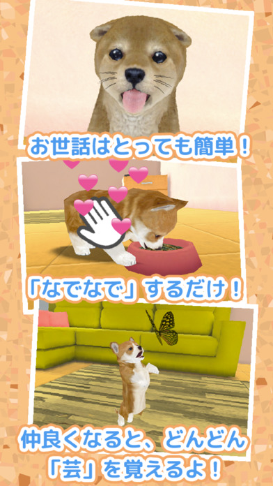 まったり子犬 育成ゲーム - のんびり癒しのこいぬ放置系アプリのスクリーンショット_2