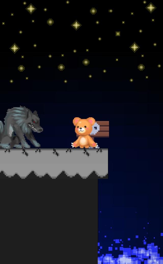 育成RPG くまのボニー 大人気の無料ゲームのスクリーンショット_1