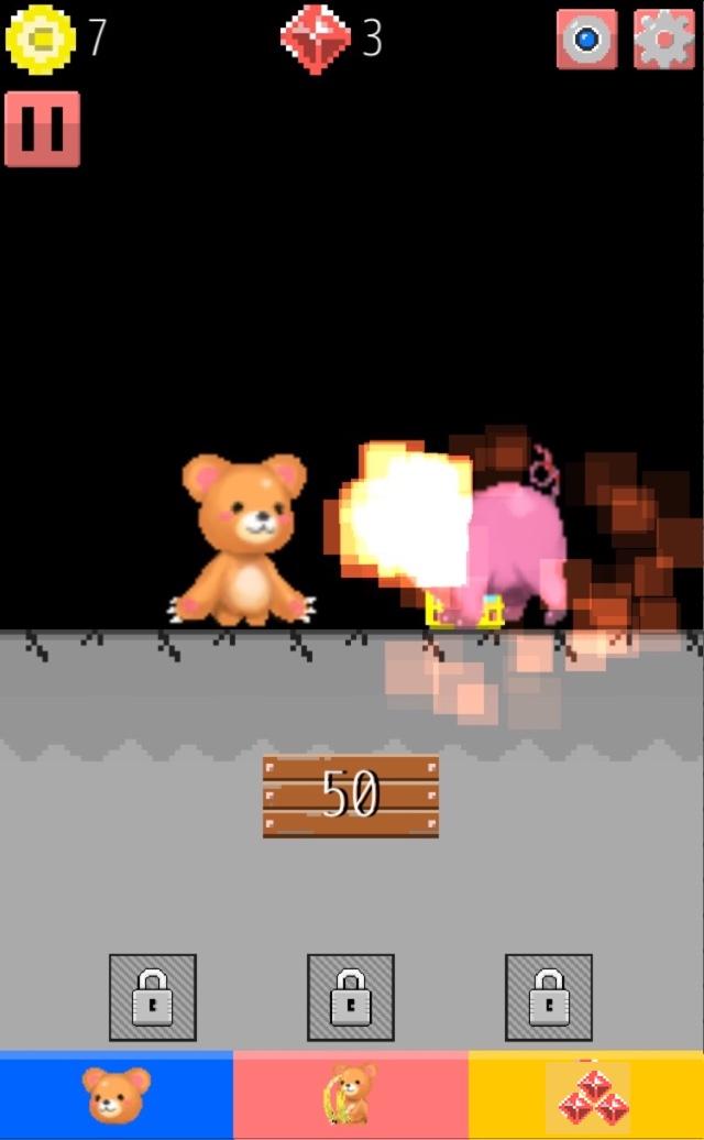 育成RPG くまのボニー 大人気の無料ゲームのスクリーンショット_3