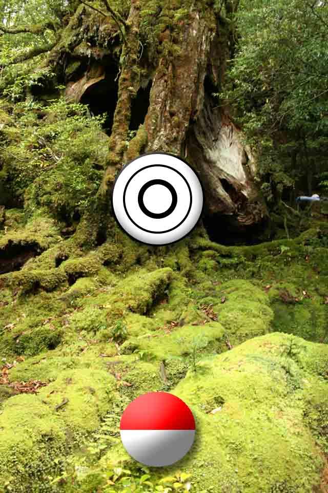 モンスターを捕獲するボールを投げる練習が無料でできるアプリのスクリーンショット_1