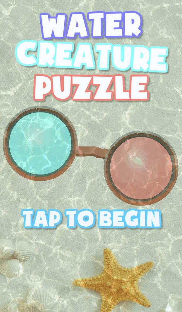 水のいきもの パズルゲーム 無料のスクリーンショット_1