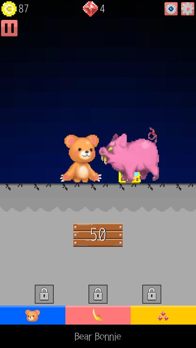 無料育成RPG-くまのボニー 大人気暇つぶし脱出ゲームのスクリーンショット_4